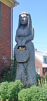 Statue of mother