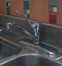 Working faucet