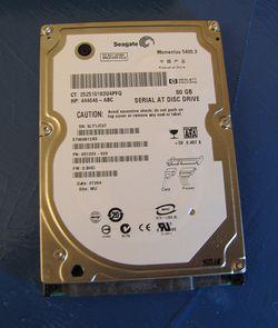 Dead 80 GB Hard drive