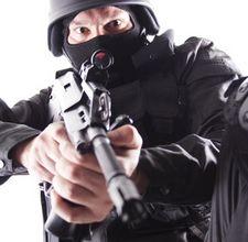 Swat team coming at you